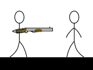 Watch and share Shotgun animated stickers on Gfycat