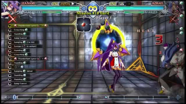 Watch BBCF: Izanami Hard-10 GIF by snuffychris605 (@snuffychris605) on Gfycat. Discover more related GIFs on Gfycat