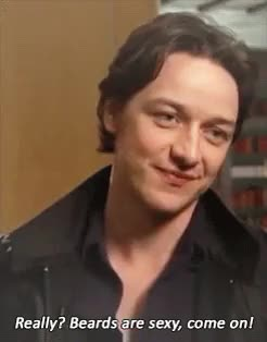 Watch and share Ginger Beard GIFs and James Mcavoy GIFs on Gfycat