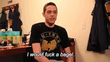 bagel, bagels, pete davidson, Bagel GIFs