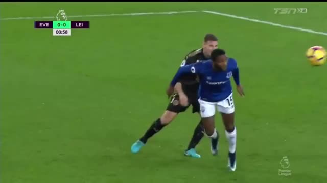 Watch Leicester Corner: One Inside the Six Yard Box vs Everton GIF by Mohamed Mohamed (@mohamedmohamed) on Gfycat. Discover more related GIFs on Gfycat