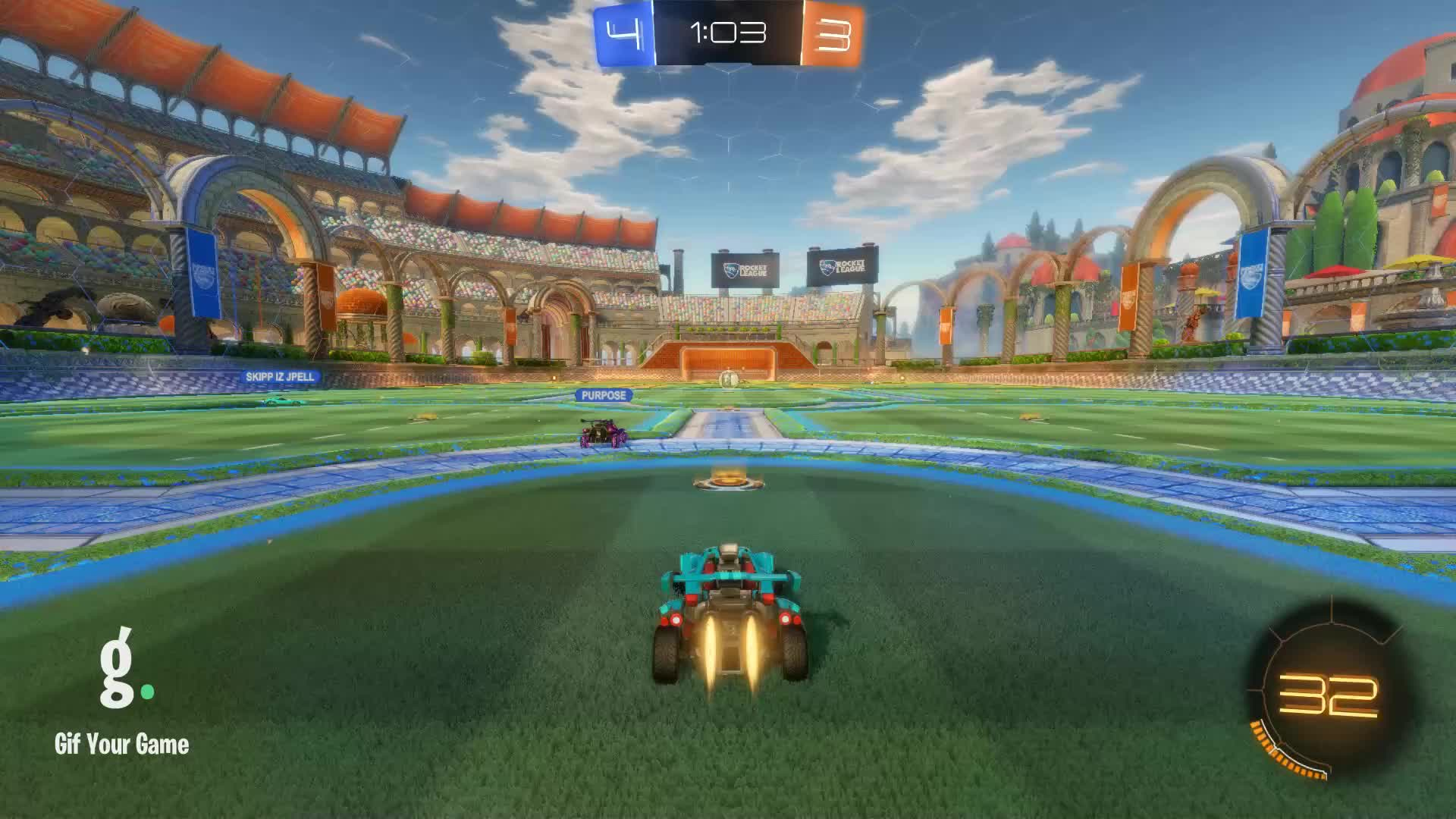 Gif Your Game, GifYourGame, Goal, Rocket League, RocketLeague, luckyman268, Goal 8: luckyman268 GIFs