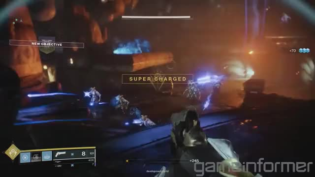 Watch laser beam GIF by @anotherprofil on Gfycat. Discover more abilities, bungie, cover, destiny 2, destiny2, forsaken, game informer, gameplay, powers, preview, supers GIFs on Gfycat