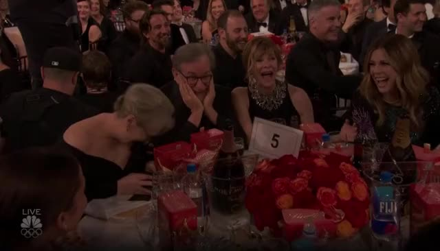Watch this golden globes GIF by GIF Reactions (@visualecho) on Gfycat. Discover more Golden Globes, GoldenGlobes, Meryl Streep, laughing GIFs on Gfycat