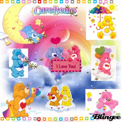 Watch and share Love Care Bears GIFs on Gfycat