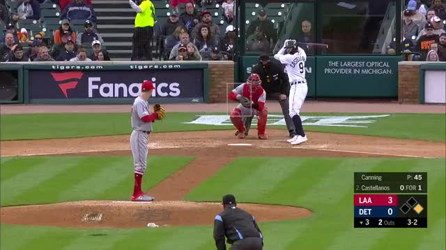 Watch and share Los Angeles Angels GIFs and Detroit Tigers GIFs by splitfinger on Gfycat