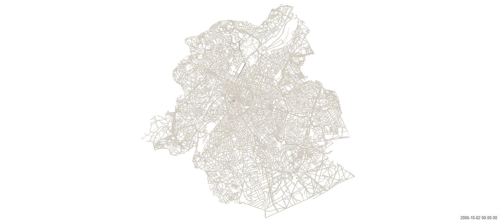 Quality PostHow roads were mapped in OpenStreetMap Brussels [GIF] [OC] [1605x716] (i..com) GIFs