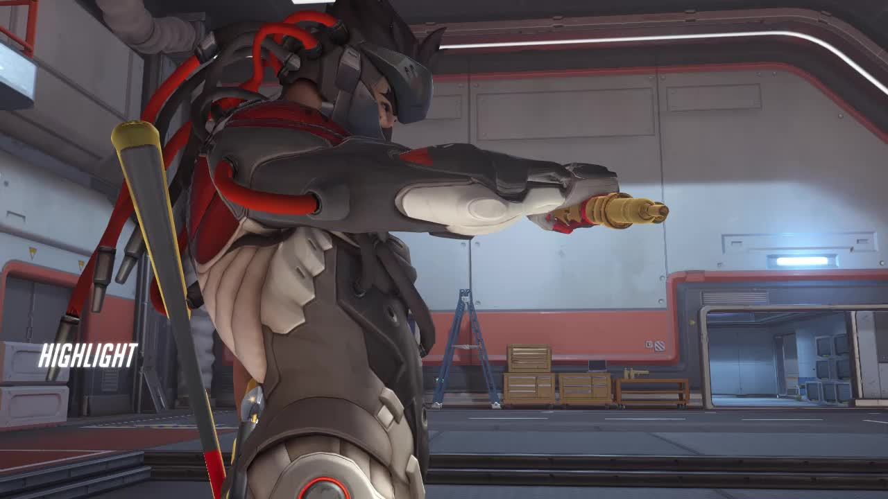 ana, highlight, overwatch, Excuse me? GIFs