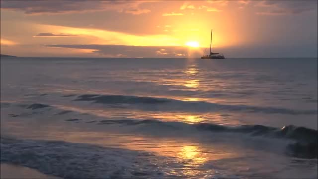 Watch Relax Music - The Most Beautiful Beach Sunsets - 2 HOURS HD 1080P GIF on Gfycat. Discover more meditation, nature sounds, ocean, ocean sounds, ocean waves, relaxation, relaxing, relaxing music, sounds, waves GIFs on Gfycat