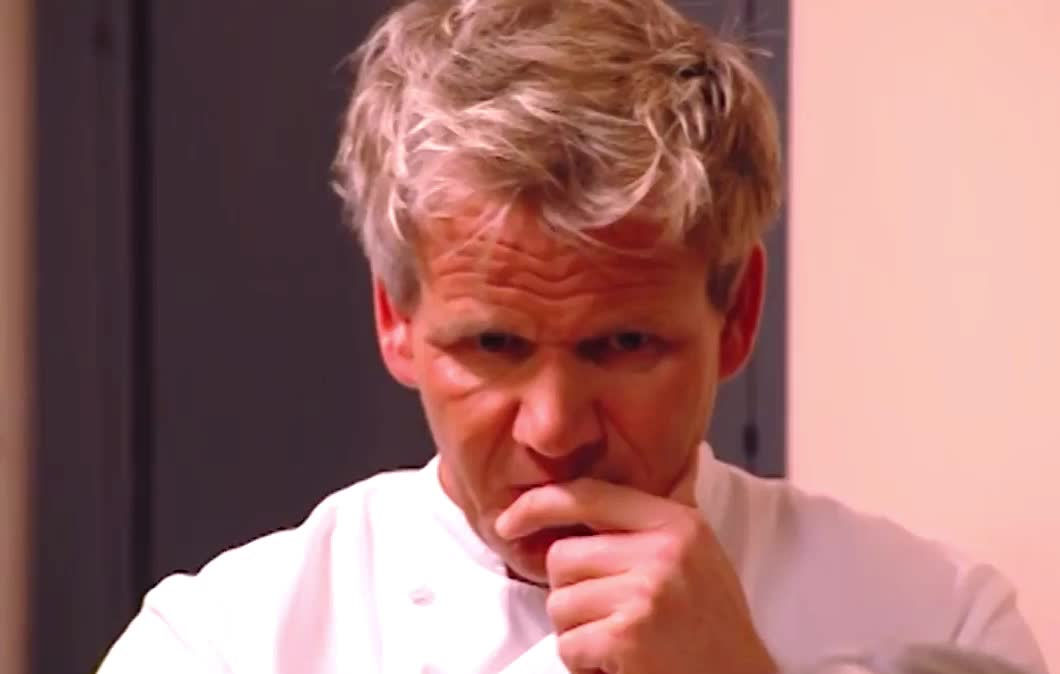 Gordon Ramsay, angry, boiling, explode, eye, fight, furious, gordon, kitchen, mad, nighmares, off, pissed, ramsay, roll, think, thought, Mad Ramsay - Kitchen Nightmares GIFs