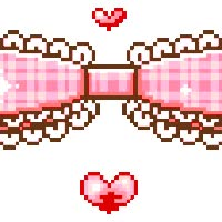 Watch and share Kawaii Lovely Ribbon Border animated stickers on Gfycat