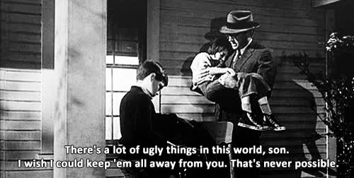 Watch and share Atticus Finch And Jem GIFs on Gfycat