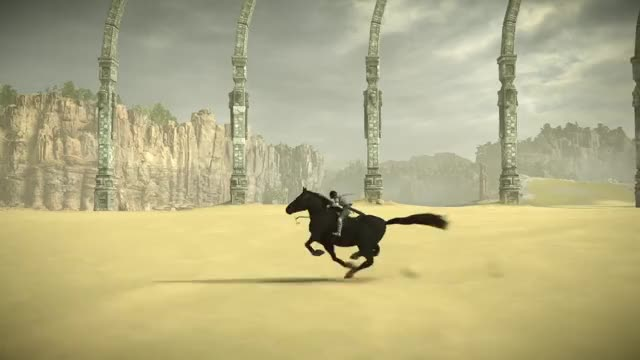 Watch SHADOW OF THE COLOSSUS Even more majestic Agro GIF by Kaneda18 (@kaneda18) on Gfycat. Discover more Agro, Bluepoint Games, Game, Horse, PS4, Shadow of the Colossus, Video Game GIFs on Gfycat