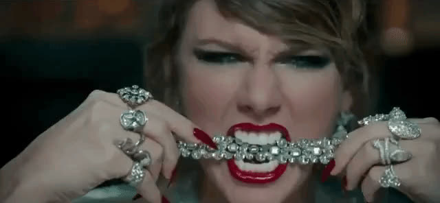Taylor Swift, angry, angst, look what you made me do, reputation, Taylor Swift - Look What You Made Me Do GIFs