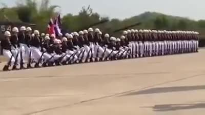 Watch and share Amazing Thailand's Military Parade GIFs on Gfycat