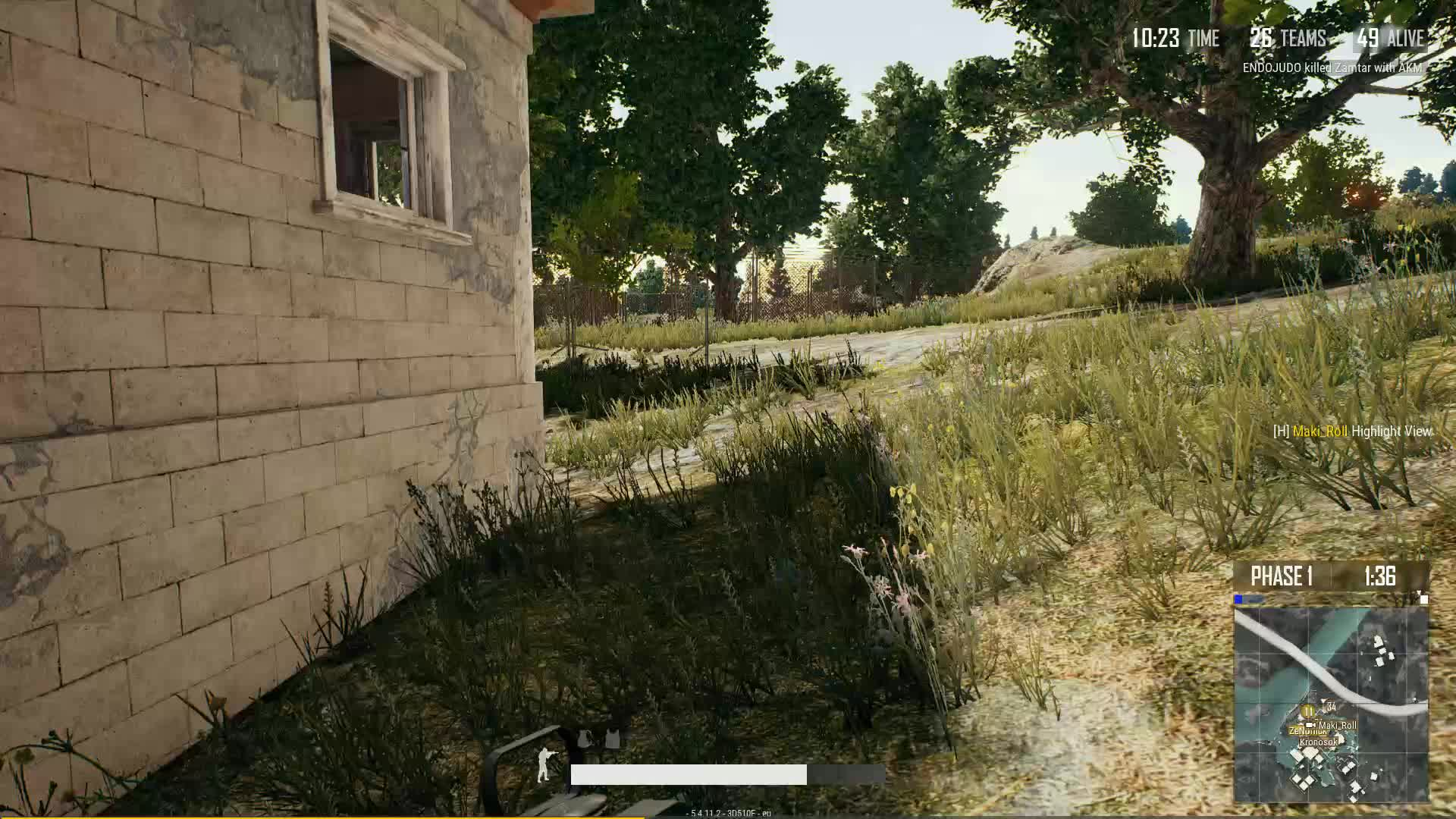 Gaming, Gif Your Game, GifYourGame, Kill, Maki_Roll, PUBG, PUBattlegrounds, Maki_Roll got a double kill GIFs