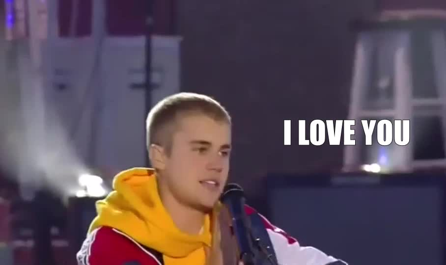 i love you, justin bieber, love, Justin Bieber GIFs