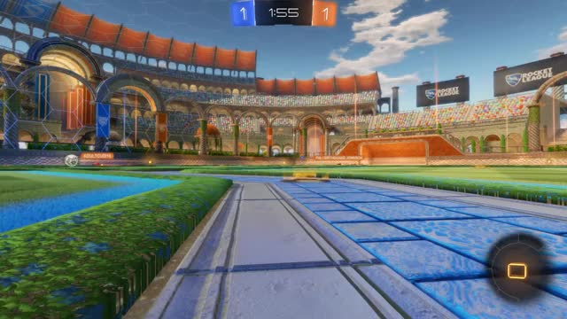 Watch Goal 3: FiA   Girthquake Johnson GIF by Gif Your Game (@gifyourgame) on Gfycat. Discover more GR LLMASTER ©, Gif Your Game, GifYourGame, Goal, Rocket League, RocketLeague GIFs on Gfycat