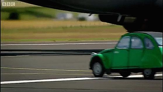 aviationgifs, Car vs 747 GIFs