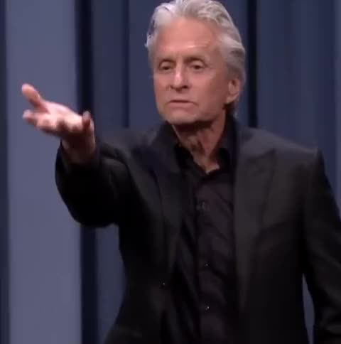 Watch and share The Tonight Show GIFs and Michael Douglas GIFs by Reactions on Gfycat