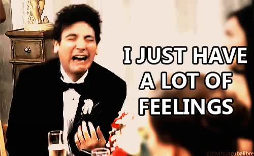 I'm bipolar and it was a rocky day...good thing Ted Mosby gets it GIFs