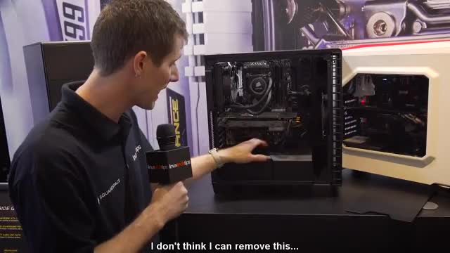 Watch Corsair Fires Shots at the $99 Case Market - 400C & 400Q - CES 2016 GIF on Gfycat. Discover more $100, 400C, pcmasterrace GIFs on Gfycat