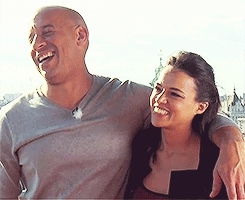 ARA, ARA 1, Fast and Furious, Letty Ortiz, The Fast and The Furious, actor, actors relate awareness, actress, ara, ara 1, dom and letty, dom toretto, f&f, fast 5, fast 6, fast and furious, fast and furious 8, fast five, friendship, furious 7, letty ortiz, letty toretto, michelle and vin, michelle rodriguez, the fast and the furious, vin and michelle, vin diesel, vinchelle,  GIFs