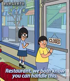 Watch and share Bobs Burgers GIFs and Restaurant GIFs on Gfycat