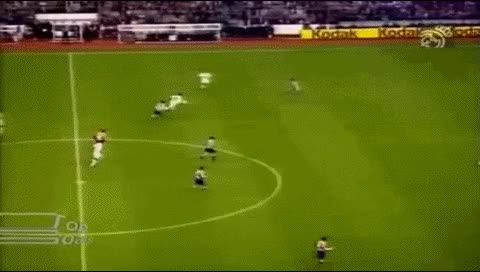 Watch Raul. Real Madrid - Atletico Madrid. 05.11.1994 GIF by @fatalali on Gfycat. Discover more related GIFs on Gfycat