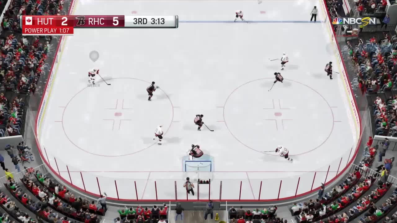 nhlhut, Don't run your goalie at me GIFs