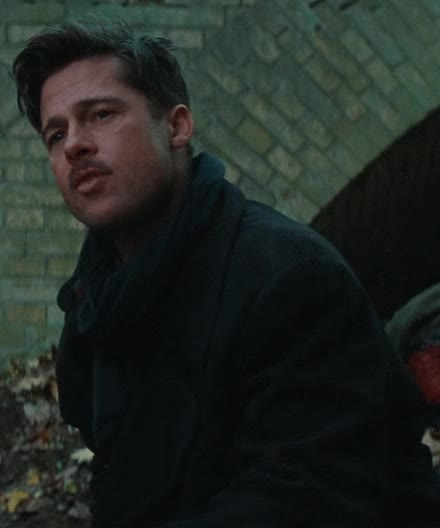 Watch this brad pitt GIF on Gfycat. Discover more brad pitt, inglourious basterds GIFs on Gfycat