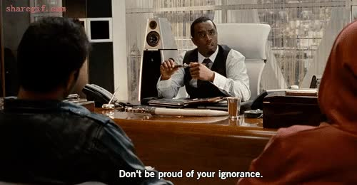 Watch ignorance GIF on Gfycat. Discover more related GIFs on Gfycat