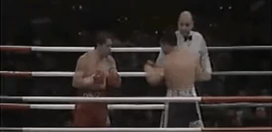 "Watch [GIF] ""It was the largest live attendance in boxing history, and the only time a ring was surrounded by a moat and barbed wire. One couldn't help but wonder if it was designed for safety or to keep the challenger from running away once it started."" Chavez vs Hausen. This Day In Boxing Feb 20 1993. (reddit) GIF on Gfycat. Discover more Boxing, boxing GIFs on Gfycat"