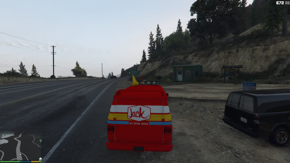 GTA5, GTAV, cravevan, gaming, gta5mod, gtavmod, jackinthebox, mods, GTA5 Crave Van Jack in the Box GIFs