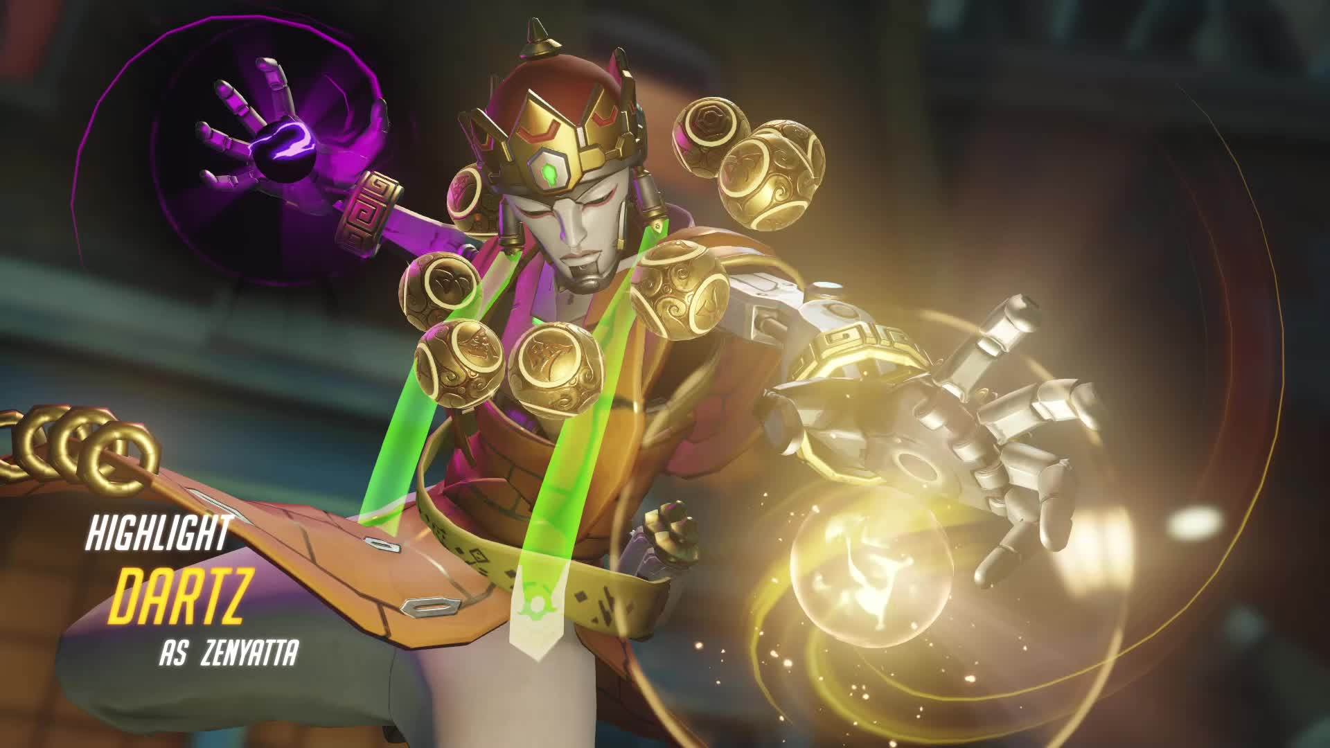 Overwatch, Zenyatta, Zen killing tracer GIFs