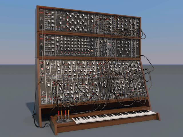 Watch and share Modular Synthesizer In  Cinema 4D R13 Format GIFs on Gfycat