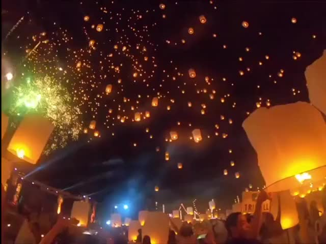 Watch and share Chiang Mai, Thailand, The Siamese Festival Of Loi Krathong GIFs by MyNameGifOreilly on Gfycat