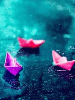 Watch and share Paper Boat GIFs on Gfycat