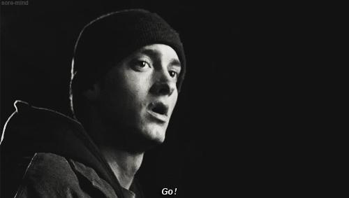 8mile, B-rabbit, Bw, Eminem, MarshallMathers, SlimShady, b-rabbit, black, brother, bw, eminem, film, go, love, marshall mathers, marshallmathers, sister, slimshady, white, Eminem. GIFs