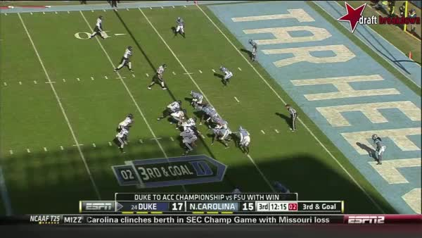 Jamison Crowder vs North Carolina (2013) (reddit)