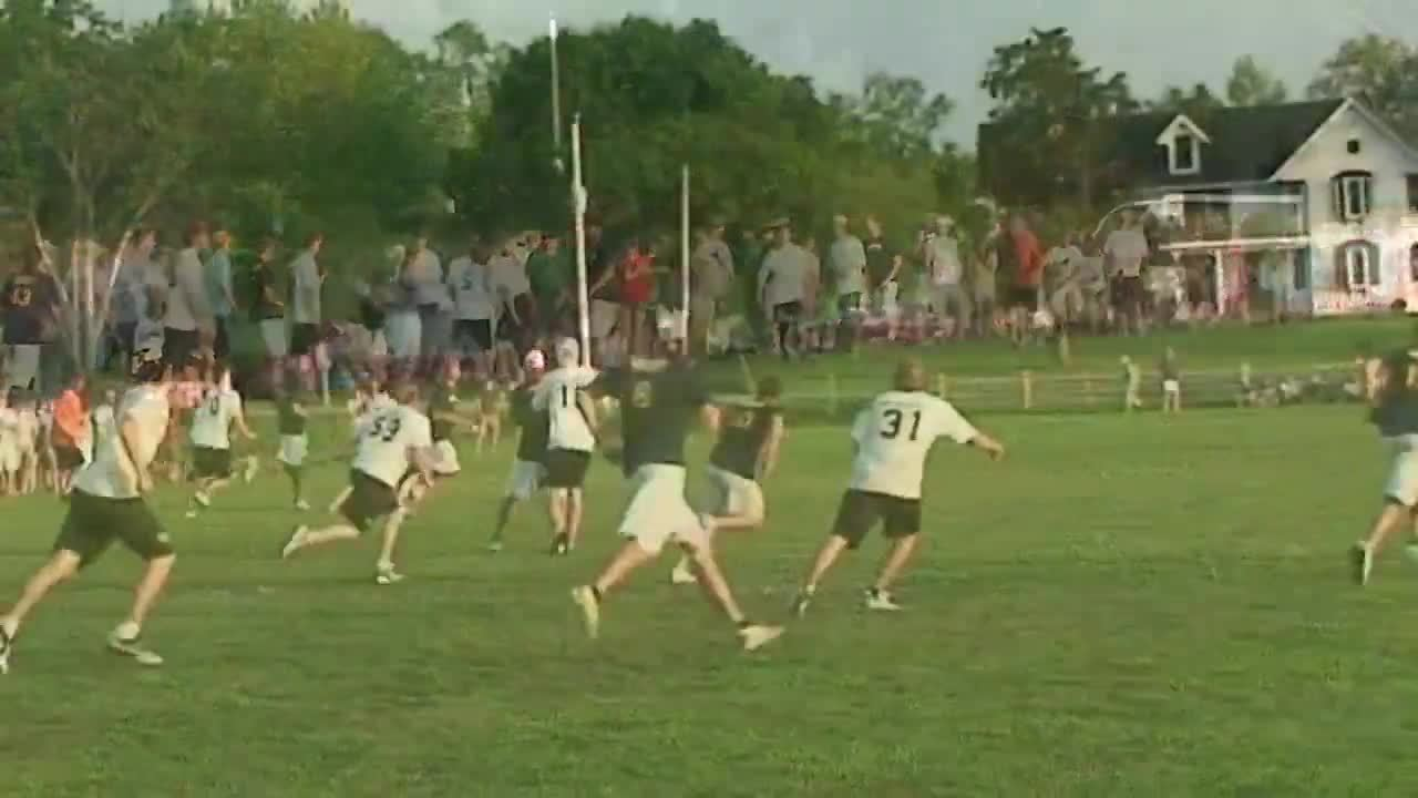 sports, ultimategifs, One of my all time favorites: Big Double Layout from Oregon/Cal 2010 (reddit) GIFs
