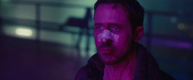 Watch and share Blade Runner 2049 GIFs and Ryan Gosling GIFs by Ricky Bobby on Gfycat