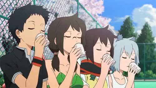 Watch this GIF on Gfycat. Discover more Jayjifs, goddamn mermaid aging processes, why does it make them 10x more cuter, yozakura quartet, yq GIFs on Gfycat
