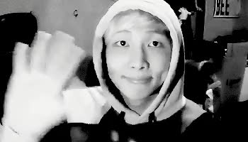 Watch rapmon wave GIF on Gfycat. Discover more bts, kim nam-joon, rap monster GIFs on Gfycat