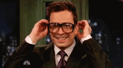 Watch and share Jimmy Fallon Glasses GIFs on Gfycat