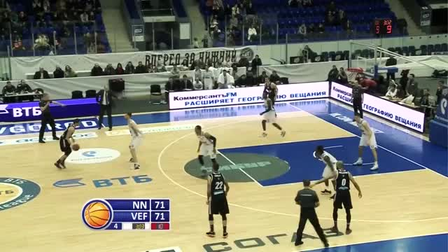 Watch Nizhny Novgorod vs VEF Highlights Jan 21, 2017 GIF by @allsports.lv on Gfycat. Discover more беларусь, москва, цска GIFs on Gfycat