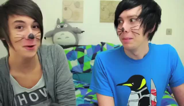 Watch this trending GIF on Gfycat. Discover more AmazingPhil, adorable, danisnotonfire GIFs on Gfycat