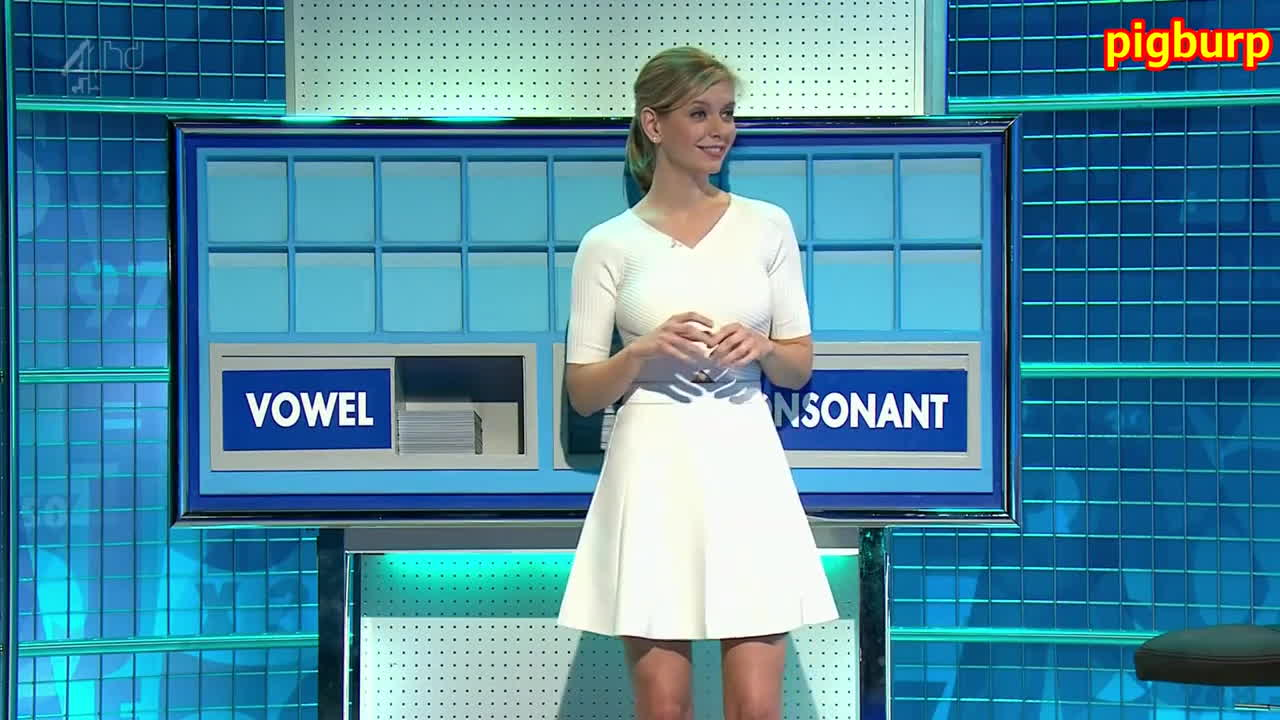 RachelRiley, rachelriley, Rachel Riley Short White and Tight FULL HD GIFs