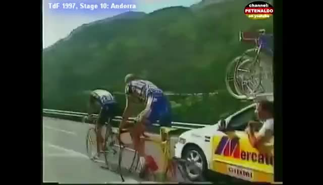 Watch Jan Ullrich ► TdF 1997 ► Stage 10 ► Andorra [15.07.1997] GIF on Gfycat. Discover more related GIFs on Gfycat