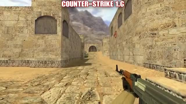Watch and share AK-47 : Comparison Oldest And Newest Counter-strike GIFs on Gfycat